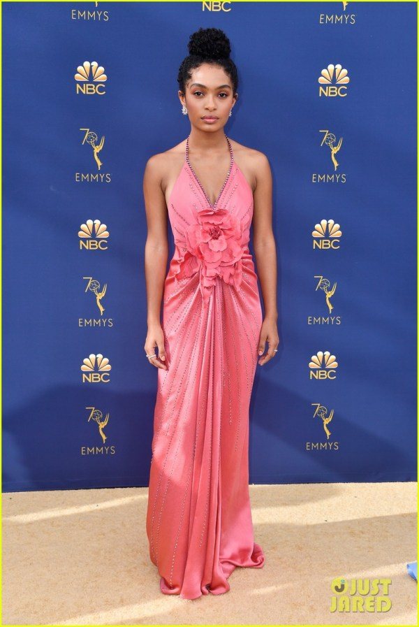 Yara Shahidi & Marsai Martin Colorful With Chic Emmy Awards 2018 1186341