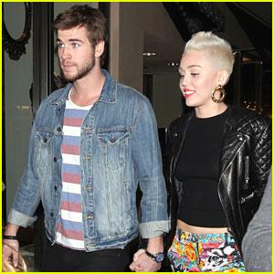 Miley Cyrus Liam Hemsworth Happy Birthday Noah