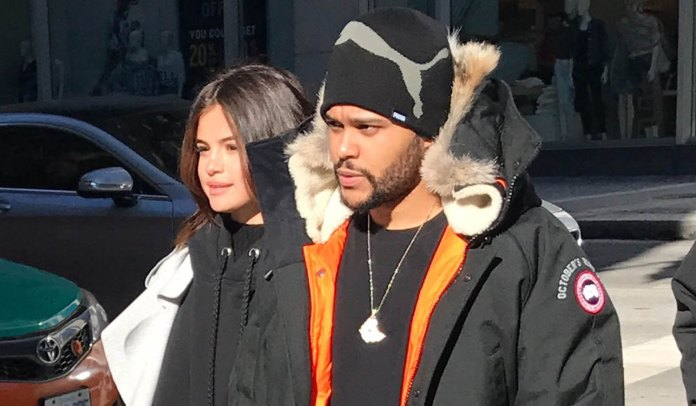 Image result for the_Weeknd and selena gomez