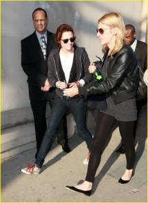 Kristen Stewart Jokes With Jimmy Kimmel 99471