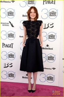 Film Independent Spirit Awards Emma Stone