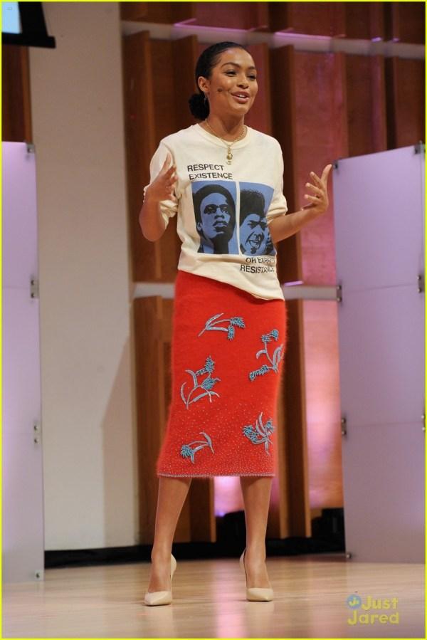 Yara Shahidi Speaks Glamour' Girl Project