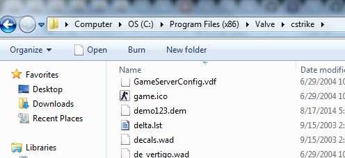 Counter Strike 1.6 Demo File In CStrike Folder
