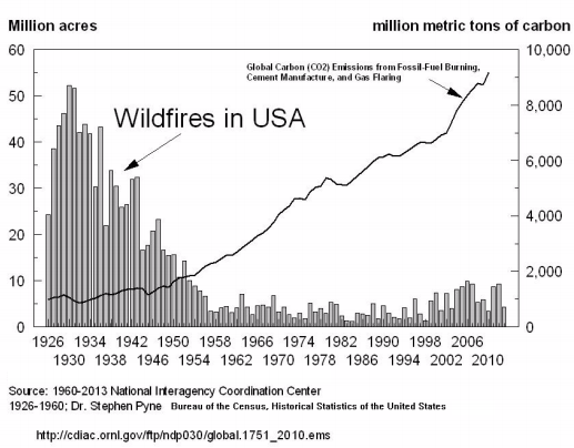 wildfires in the u.s.