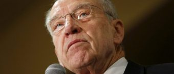 Grassley 'Embarrassed' About How Little Congress Has Done This Year