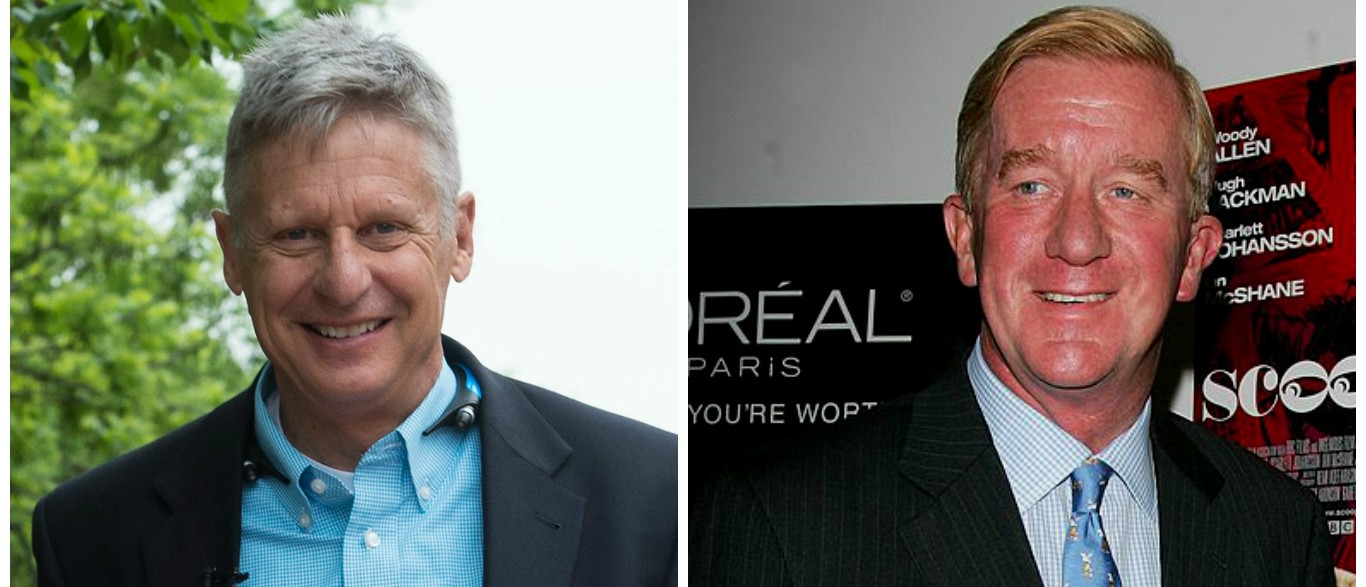 Govs. Gary Johnson and William Weld (Getty Images)
