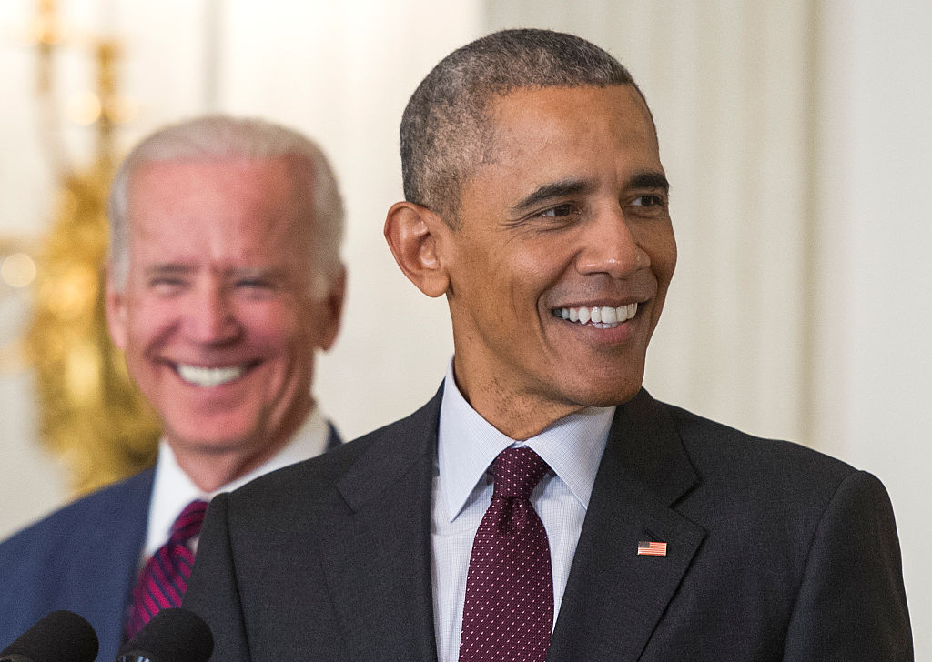 President Barack Obama and Vice President Joe Biden (Getty Images)