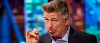 Alec Baldwin Unveils Cover Of His Book Mocking Trump