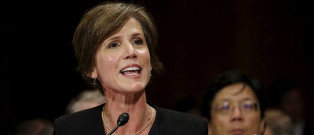 Judicial Watch Sues Justice Department For Sally Yates Emails