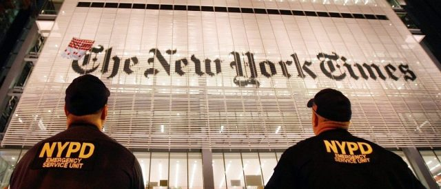 Daily Kos Founder: New York Times Is Right-Wing Propaganda