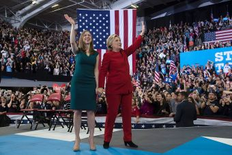 Chelsea and Hillary Clinton (Getty Images)