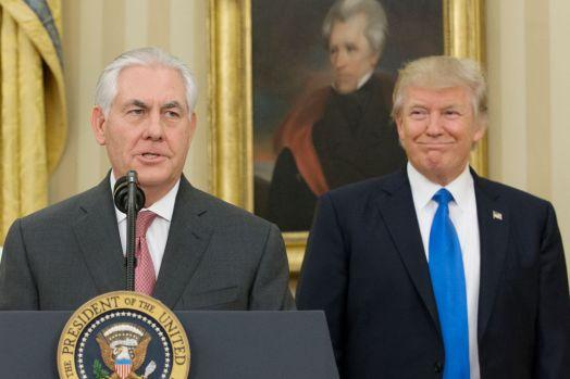 Rex Tillerson, Donald Trump (Getty Images)