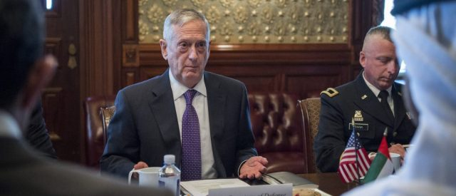 'We've Received No Questions:' Mattis Says Allies Haven't Brought Up Trump's Intel Disclosure