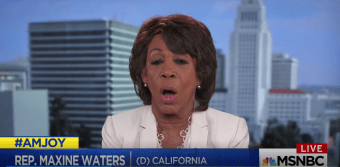 Maxine Waters Pushes Impeachment, 'I Don't Care What Others Say' [VIDEO]