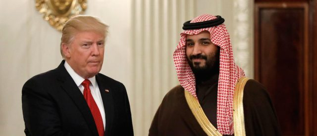 Trump's $100 Billion Weapons Sale To Saudi Arabia Would Be Largest In History