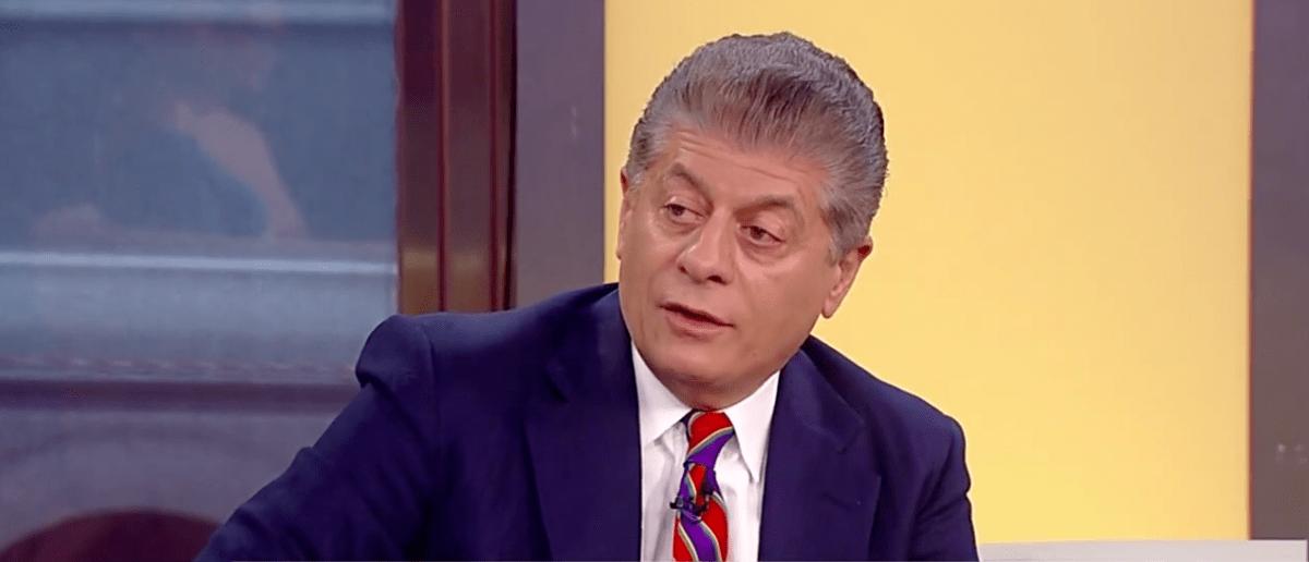 Screen Shot Judge Napolitano on Fox News (May 8, 2017)