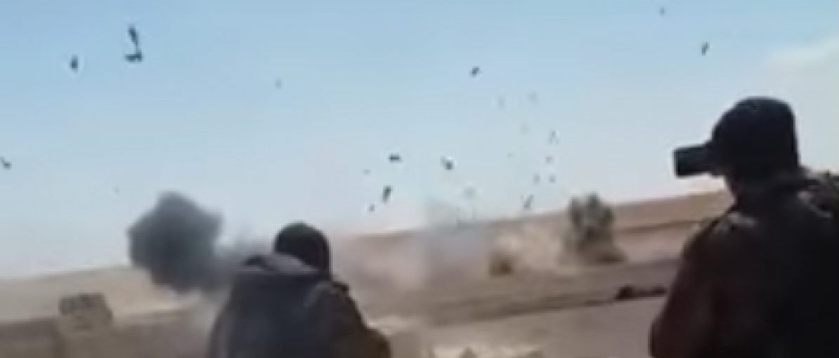 Two suicide bombers blow themselves up in Syria. Source: YouTube screenshot