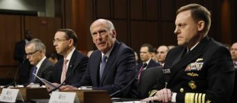 Top Intel Community Officials Deny That Trump Pressured Them On Russia Probe
