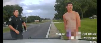 'That's Not Normal': Florida Man Strips Naked After Fleeing Car Crash [VIDEO]