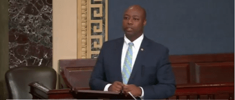 Tim Scott Knocks Click-Driven Media, Warns Against 'Dangerous' Polarization After Attempted GOP Assassinations [VIDEO]