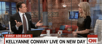 Producer For CNN's Chris Cuomo Says Kellyanne Conway 'Looks Like She Got Hit With A Shovel'