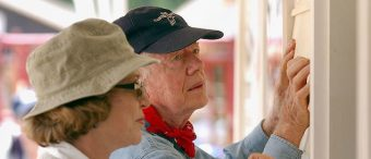 Jimmy Carter Hospitalized After Volunteering In Hot Sun