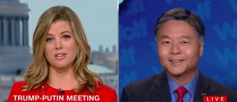 Dem Rep Who Wore 'Trump Putin '16' Shirt Has Maturity Called Into Question By CNN Anchor