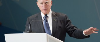 Jerry Brown Believes Fate Of World Rests On California's Climate Program