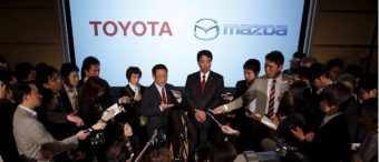 Toyota And Mazda To Set Up $1.6 Billion Plant In US, Creating 4,000 Jobs