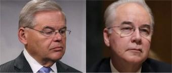 Democrats Praise Tom Price's Resignation Over Flights, Remain Silent On Robert Menendez