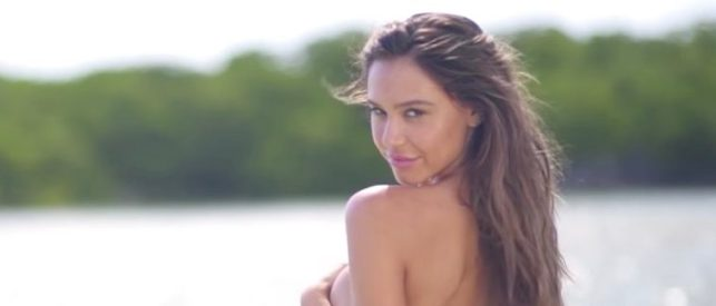Alexis Ren Wins The Day In Smoldering Black-And-White Lingerie Shot [PHOTOS]