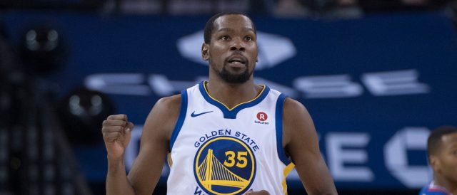 Kevin Durant (Photo by Kyle Terada-USA TODAY Sports)