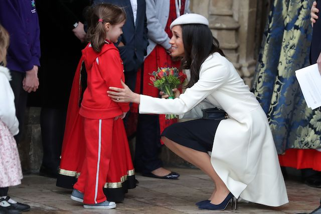 Meghan Markle Gives Nod To Princess Diana At Meeting With
