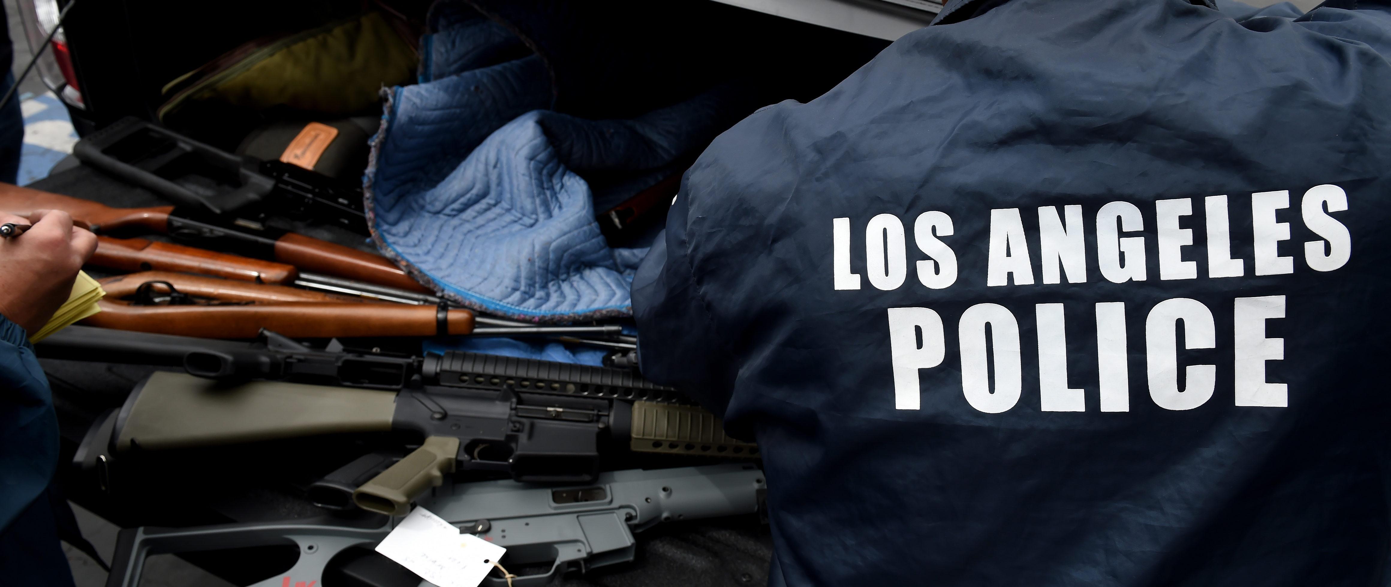 California Gun Law Prompts Frenzy Of Assault Gun