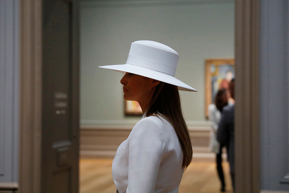 WaPo Writer Gushes Over Melania's Hat: 'Nothing Else Mattered'