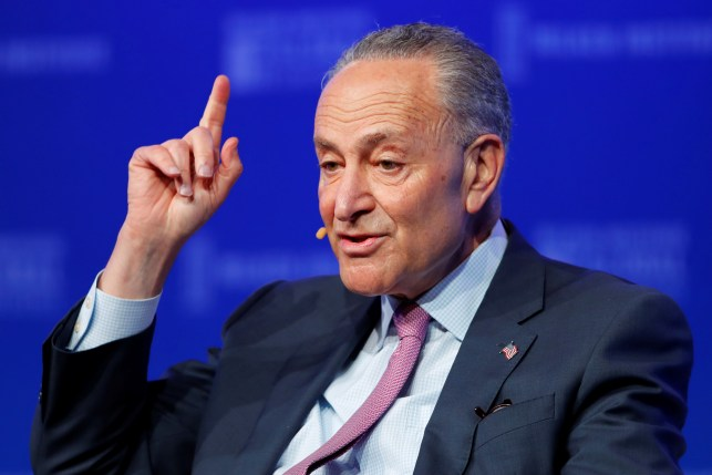Chuck Schumer Blasts Trump For 'Autocratic Behavior We'd Expect In A Banana Republic'