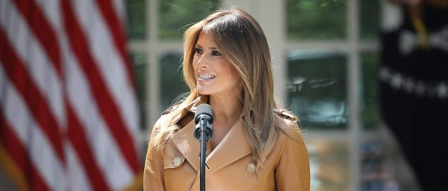 Melania Trump Hopes For Immigration Reform To Solve Border Crisis