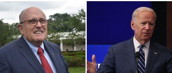 Rudy Giuliani: Joe Biden Is A 'Mentally Deficient Idiot'