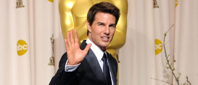 HOLLYWOOD, CA - FEBRUARY 26: Actor Tom Cruise poses in the press room at the 84th Annual Academy Awards held at the Hollywood & Highland Center on February 26, 2012 in Hollywood, California. (Photo by Jason Merritt/Getty Images)