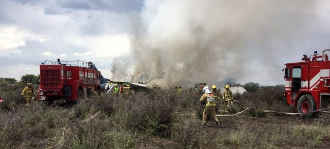 85 Injured In Mexican Plane Crash, No Fatalities