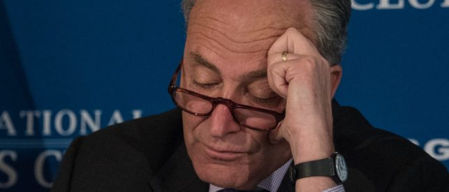 Manchin To Schumer: 'Kiss My You Know What'