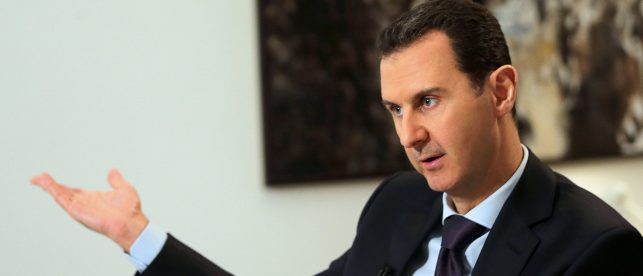 Assad Wants Russia To Remain In Syria Permanently