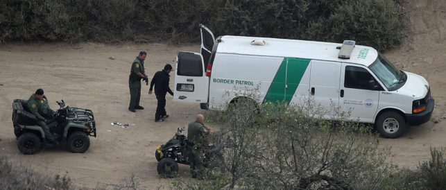 Texas Border Patrol Captures 20 Illegal Aliens