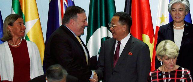 North Korea Denounces 'Alarming' US Push For Denuclearization