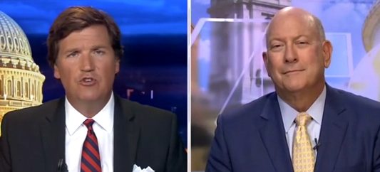 'Language Is Not A Race' — Tucker Explodes When Guest Paints Trump As 'Wildly Racist' For Complimenting ICE Agent's English