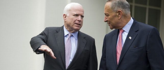 Schumer Proposes Resolution To Rename Senate Office Building After John McCain