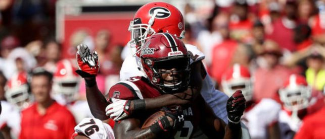 The Fans Let Me Have It After Georgia Rolled South Carolina. Here Are The Best Reactions