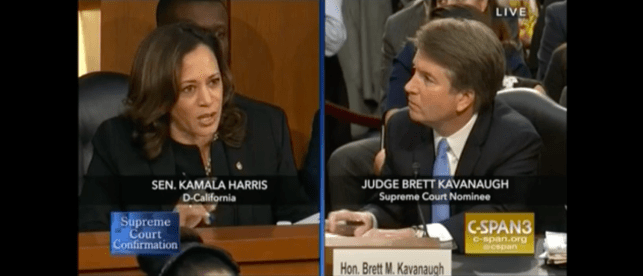 Politifact Corrects Kamala Harris For Lying About Kavanaugh's Stance On Contraceptives