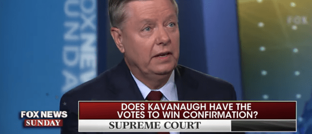 Lindsey Graham Thinks Kavanaugh Is A Lock If He Does This One Thing