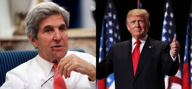 Trump Weighs In On John Kerry Running For President In 2020: 'Looks Really Good – FOR ME!'